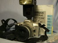 '   404SI NICE SET ' Minolta Dynax 404SI SLR Camera + 28-80MM Lens + Inst + Flash -NICE- £24.99